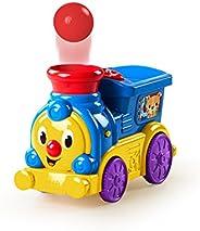 Trenzinho Roll & Pop, Bright Starts, Azul/Amarelo/Vermelho/