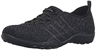 Skechers Sport Women's Breathe Easy Fortune Fashion Sneaker,Black/Charcoal Mesh/Trim,7.5 M US (B01B64A0BM) | Amazon price tracker / tracking, Amazon price history charts, Amazon price watches, Amazon price drop alerts