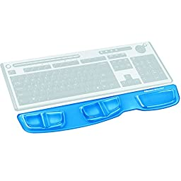 Fellowes Keyboard Palm Support with Microban Protection, Blue (9183101)