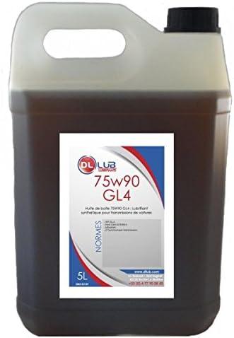 DLLUB-Aceite para caja DE cambios 75W90 GL 4,5 L.: Amazon.es ...