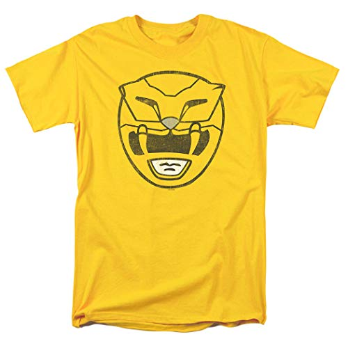 Power Rangers Yellow Ranger Mask T Shirt -