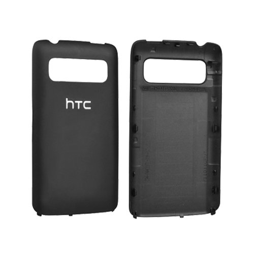 HTC OEM Trophy 6985 Standard Battery Door/Cover (Black) (Bulk Packaging)