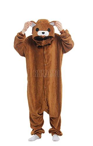 Rnmomo Unisex-adult Kigurumi Onesie Pedo Bear Pajamas (XL: