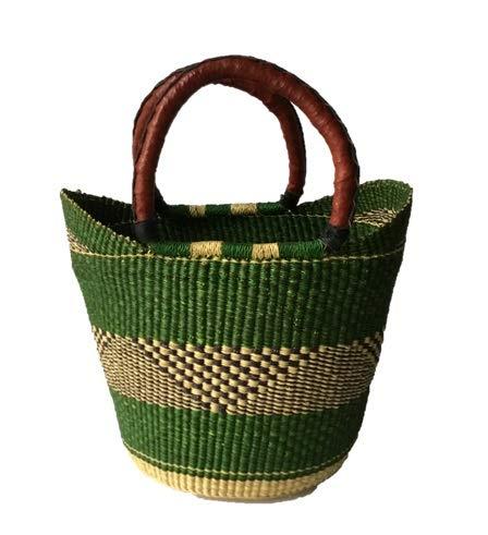 Shopper Fair Trade - Medium Yikene Shopper - Ghana Bolga Basket Fair Trade - 15
