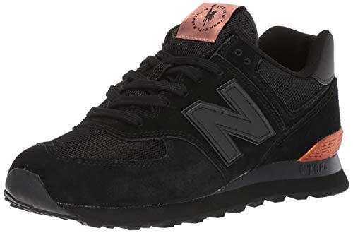 New Balance Men's Iconic 574 NYC Marathon Sneaker, Black, 9.5 D ()
