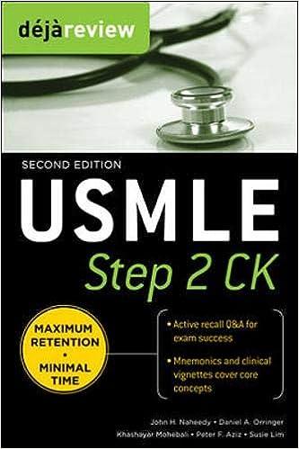 Kết quả hình ảnh cho Deja Review - USMLE Step 2 CK amazon