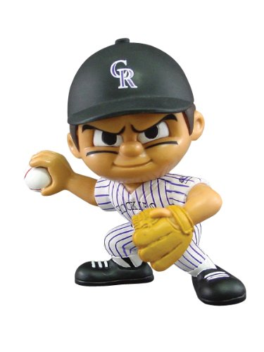 - Party Animal Toys Lil' Teammates Colorado Rockies Pitcher MLB Figurines