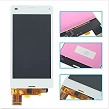 White LCD Display Touch Screen Digitizer Assembly for Sony Xperia Z3 Mini Compact D5803 D5833