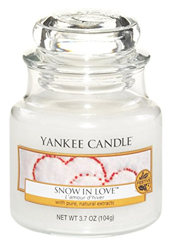 YANKEE CANDLE bougie petite jarre, «Amour d'hiver» «Amour d' hiver» 1249717E