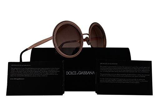 Dolce & Gabbana DG2179 Sunglasses Rose Gold w/Pink Gradient Lens 54mm 129813 DG - Gabbana And Sunglasses Dolce Rose