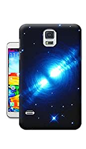 Pinellia Shop The Reflection Of Light Star TPU Hard Phone Case for Samsung Galaxy S5