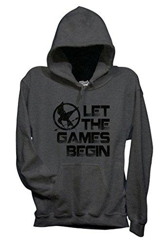 The Dress Games By Gris Your Let Begin Style Sweatshirt Film Mush Hunger Foncé ZCEdqwqB
