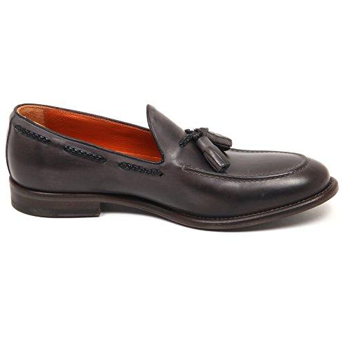 Vintage altieri Man Grey Shoe Grigio Mocassino Milano Scarpe Loafer E6650 Uomo q6xYrFR6