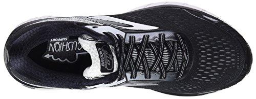 1d091 Adrenaline Nero Running Uomo black silver white Gts 18 Scarpe Brooks Da ZwXxPqdP0