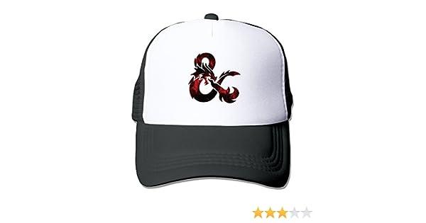 8ccd0a69eff Amazon.com  Cool Dungeons   Dragons Trucker Mesh Baseball Cap Hat Black  (6362331441544)  Books