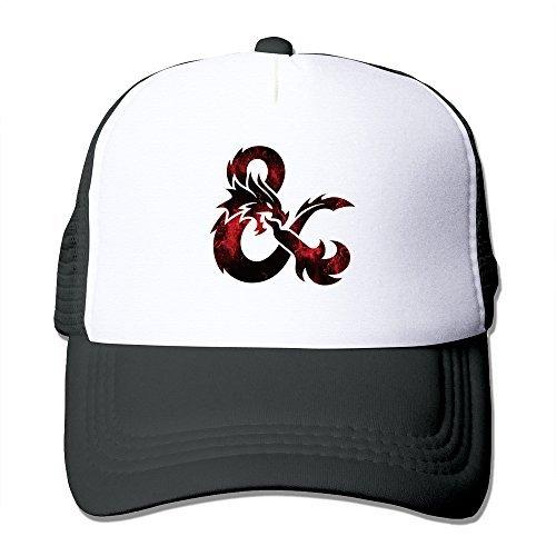 c354c84c610 Amazon.com  Cool Dungeons   Dragons Trucker Mesh Baseball Cap Hat ...