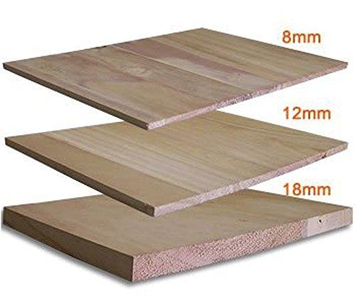 MAA Martial Arts Training Wood Breaking Breakable Boards - 8 mm (90 pcs), 12 mm (64 pcs), 18 mm (44 pcs) (8 mm (90 pcs)) (Wood Board Art)