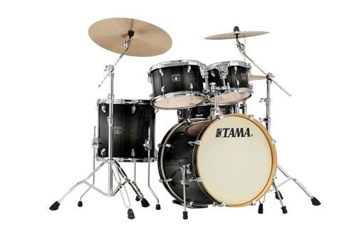 Tama Superstar Classic 5-Piece Shell Pack with 20 in. Bass Drum Transparent Black Burst