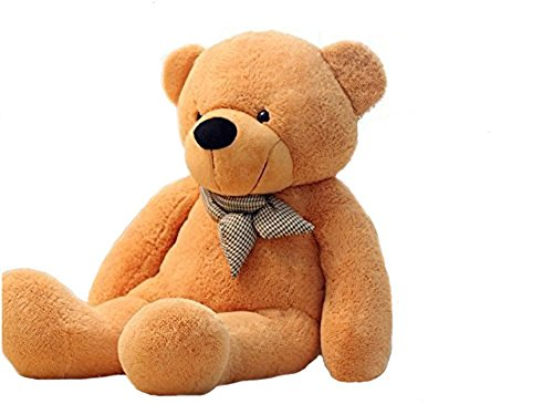 VERCART 47 inches Brown 120CM Giant Huge Cuddly Stuffed Animals Plush Teddy...