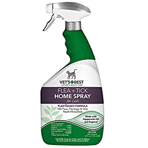 Vet's Best Flea & Tick Home Spray for Cats 10