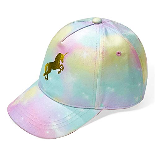 accsa Kids Trucker Hat Youth Baseball Cap for Girls Cute Unicorn Toddler Summer Hiking Cap Adjustable Sun Hat