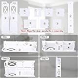 Small Bathroom Storage, Toilet Paper Storage Corner Floor Cabinet with Shelves and Doors, Bathroom Storage Organizer, Furniture Corner Shelf for Book, Toilet Paper, Shampoo, Botany