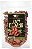 Raw Pecans Halves, 44oz(2.75 Pounds) Compares to Organic, NO PPO, Unpasteurized, 100% Natural, Extra Fancy, No Preservatives, Non-GMO,
