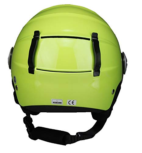 talla M BHR 63592/Casco Demi-Jet Linea Ski 820 57//58/cm Verde metalizado