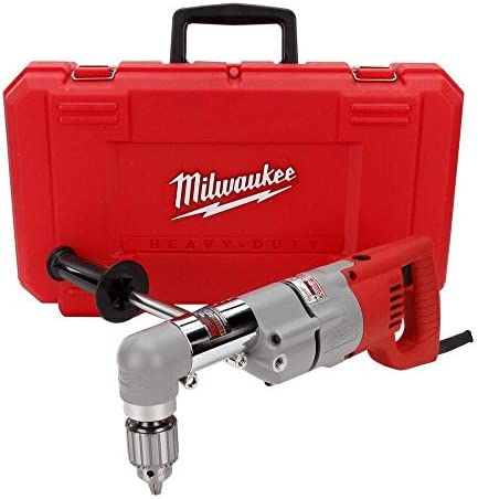 Milwaukee 3102-6 Plumbers Kit 7 Amp 1 2-Inch Right Angle Drill with D-Handle