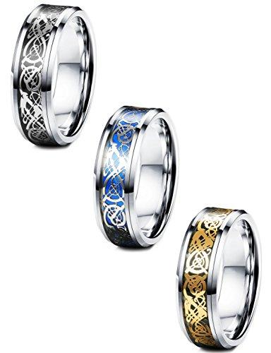 FIBO STEEL Stainless Pattern Wedding