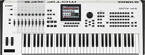Yamaha Motif XF 6 White 61-Key Music Production Synthesizer