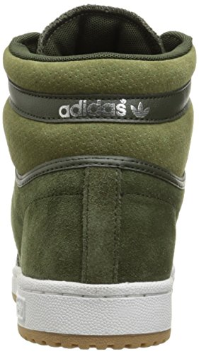 Adidas Mens Top Ten Hi Tessuto Moda Sneaker Notte Cargo Notte Cargo Carico Doliva