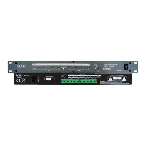 ROLLS RA63b Eight Channel Audio Distribution Amplifier, Rack Mountable
