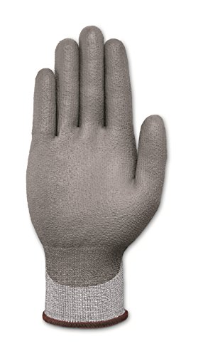 Ansell HyFlex 11-627 Lycra Light Duty Safety Glove with DSM Dyneema Technology, Abrasion/Cut Resistant, Size 9, Gray (Pack of 12 Pair) by Ansell (Image #3)