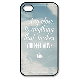 Customized Durable Case for Iphone 4,4S, Stay Close Phone Case - HL-R681821