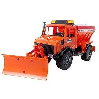 Bruder 02572 MB Unimog w Snow Plow