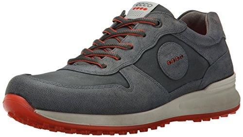 ECCO Men's Speed Hybrid-M Golf Shoe, Dark Shadow, 46 EU/12-12.5 US