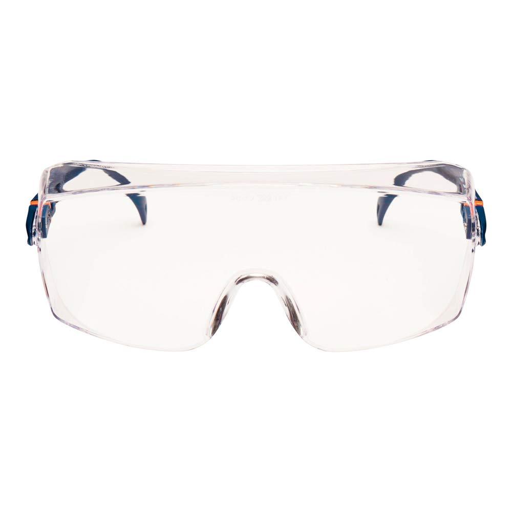 3M Classic Line Over Gafas de seguridad Óptica Clase 1 Resistente al Impacto Integral Protector de Cejas Ref 2800 CLO
