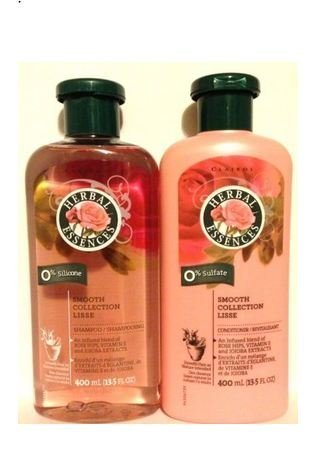 - Herbal Essences Smooth Collection Shampoo + Conditioner 13.5 fl oz each