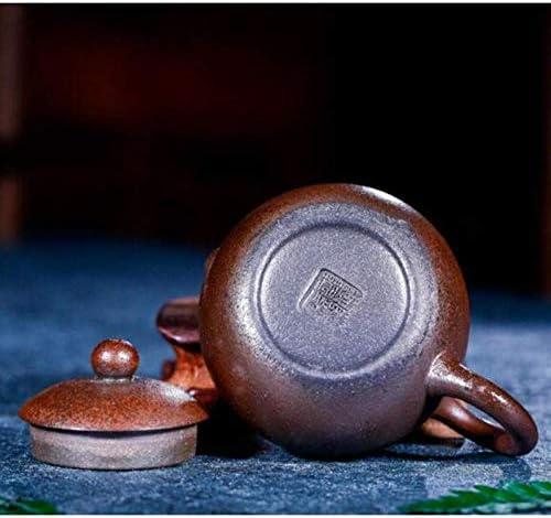 Exquise Gietijzeren Theepotten Keramische Theepot 80 Ml Chinese Stijl Paars Zand Xi Shi Pot Kungfu Thee Set Theepot Kantoor Huishoudelijke Drinkgerei