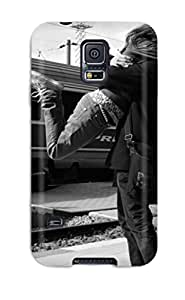 Jimmy E Aguirre's Shop Flexible Tpu Back Case Cover For Galaxy S5 - Black And White 5092117K70352019