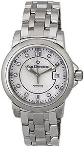 Carl F. Bucherer Patravi AutoDate Automatic Steel Watch MOP Dial 00.10617.08.77.21