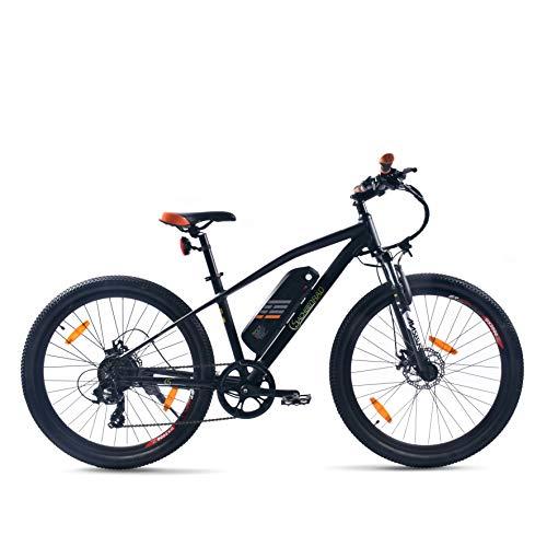 SachsenRad E-Bike R6 27.5 inch 250 W motor 11 Ah Lith. Batterij 400 WH accu Shimano Tourney TX 7 100 km bereik…