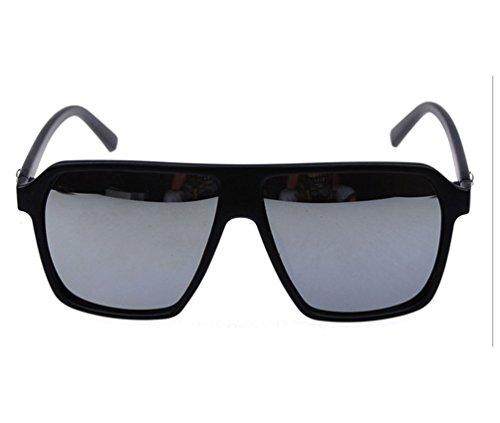 Tansle Skull Icon Sunglasses Unisex-Adult Best Love Style Big Sizes Frame 54mm - Sunglasses Skull Frame