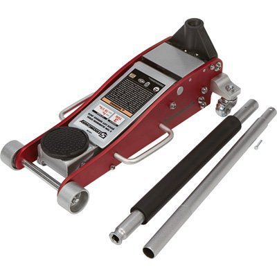 Strongway Hydraulic Aluminum/Steel Quick Lift Service Jack - 3-Ton Capacity, 4in.-18 1/4in. Lifting...