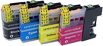 Cartuchos de Impresora compatibles con Brother LC-123 LC123 XL ...