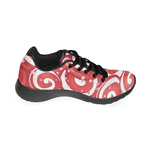 Negro de Zapatillas Para Running Negro Mujer Lona de Zenzzle Zq8w5xdUzq