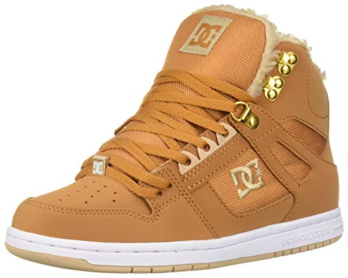 DC Shoes Womens Shoes Pure Wnt - Winter High-Top Boots - Women - US 5 - Yellow Wheat US 5 / UK 3 / EU 36]()