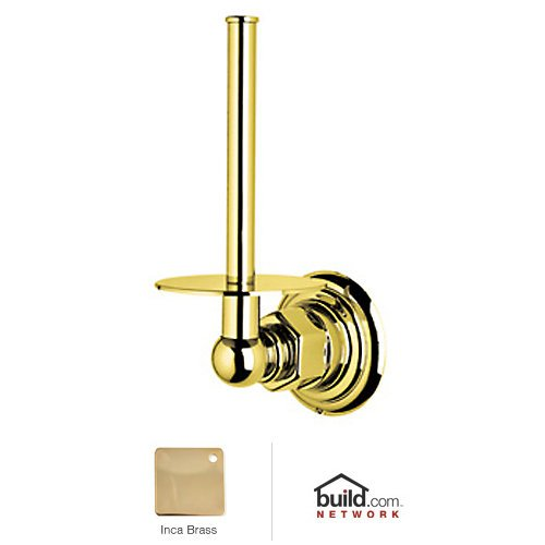 Rohl ROT19IB Inca Brass Country Bath Spare Toilet Paper Holder