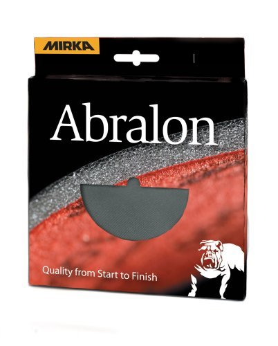 Mirka 8A-241-2000RP 2 pieces 6-Inch P2000 grit Abralon discs by Mirka